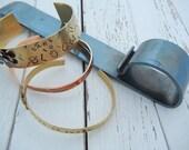 Bracelet Bending Tool - Bracelet Bender - Hand Stamped Bracelet Making Tool - Metal Cuff Tool