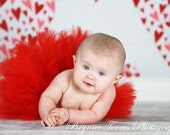 Ruby Red Baby Tutu