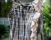 Pandora Upcycled Tie Dye Slip Top