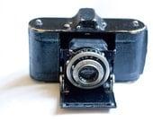 Folding Film Camera Collectors Item Antique Agfa Memo - In Working Condition