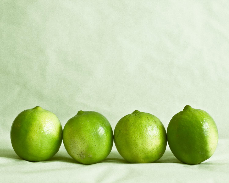 Lemon And Lime Kitchen Decor Kitchen Decor Limes Print Citrus Lime Photograph Green Soft