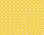"""Kitchy Kitchen by Maude Asbury """" Lime Wedge Yellow """" for Blend Fabrics- 1 yard"""