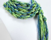 EcoCessory Skinny Scarf - Spring - Organic Cotton, Bamboo and Soy