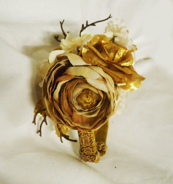 Golden Woods Floral Classic Lolita Headband