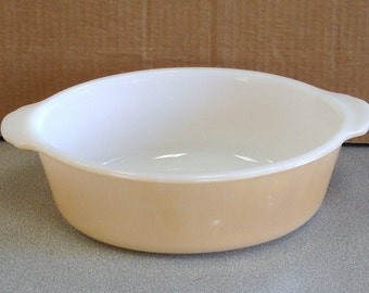Anchor Hocking Fire King Lusterware 1 1/2 Quart Baking Casserole Dish