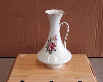 Vintage Hand Painted Bavaria Germany Porcelain Vase