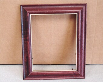 Wood Stained MAHOGANY Picture Painting Frame.