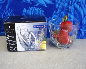 LUMINARC Clear Glass Tulip Bowl.