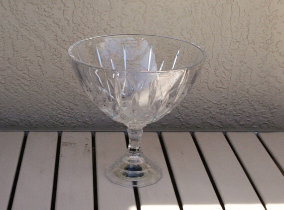 Lead Crystal Over Sized Large Compote Pedestal Bowl