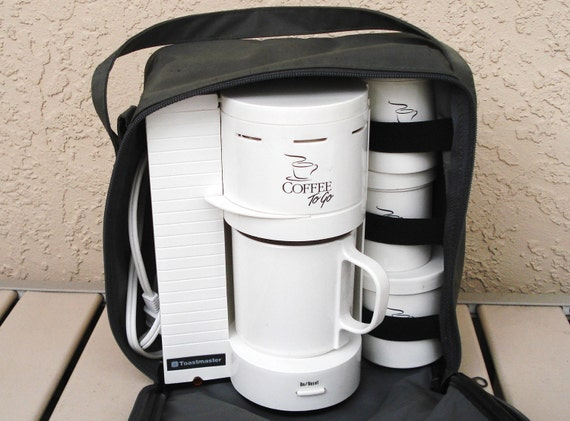 Toastmaster Coffee Maker Parts : TOASTMASTER Portable Electric One Cup Coffee Maker by npebaysale
