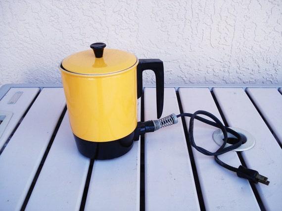 Vintage HALIANT Electric 2 cups Water Boiler Hot Tea Pot Kettle.