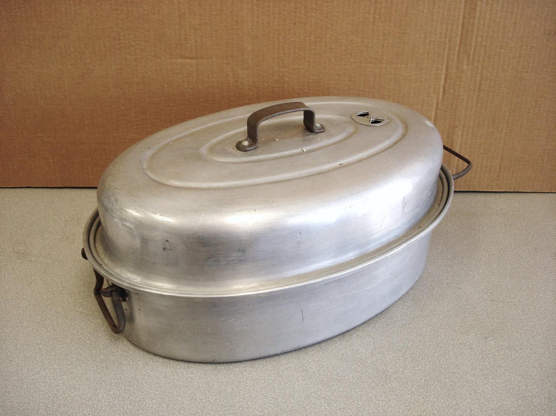 Vintage Aluminum Mirro Roasting Pan