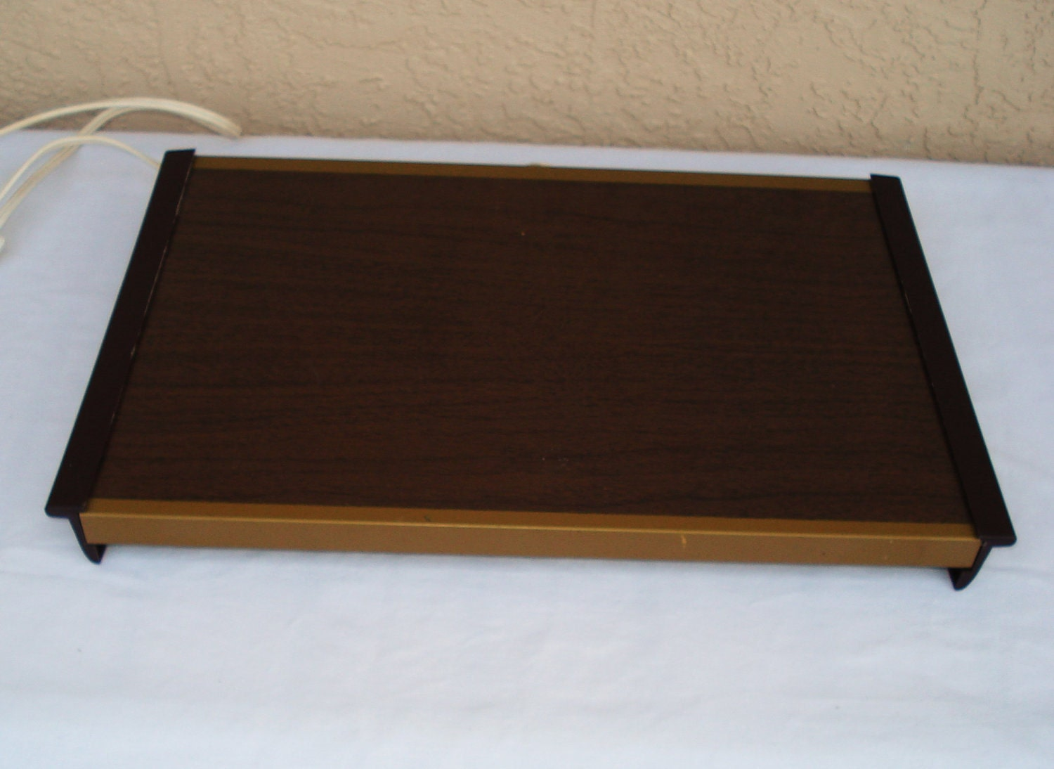 vintage electric warm a tray hot plate food warmer by. Black Bedroom Furniture Sets. Home Design Ideas