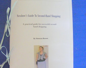 Nessbow's Guide To Second Hand Shopping e-book