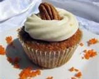 Sweet Potato, Pecan Pie & Eggnog Cupcake - 1/2 Dozen order