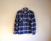CLEARANCE - Extra Thick Retro Flannel Shirt - Two Chest Pocket - RETRO Flannel Shirt