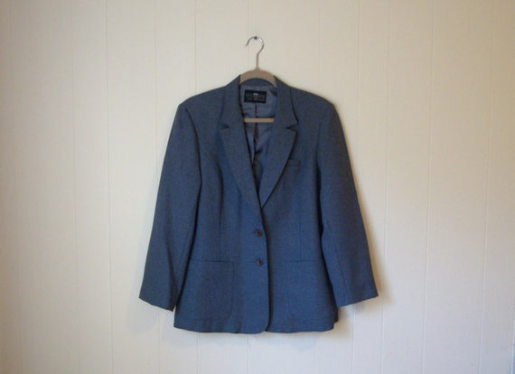 SALE - VINTAGE GREY Blazer - Perfect Fit - Levi's - Vintage Blazer - Womens Sz
