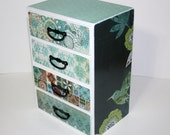 Jewelry Box - Custom Made Wooden Personalized Trinket Box in a Mini Dresser style