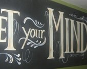 Set your mind on Things Above, where Christ Is