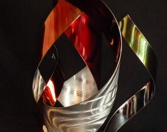 "Abstract Metal Art Sculpture by Dennis Boyd (DB Designs - Creating Metal ""works of art"") Sculpture 2"