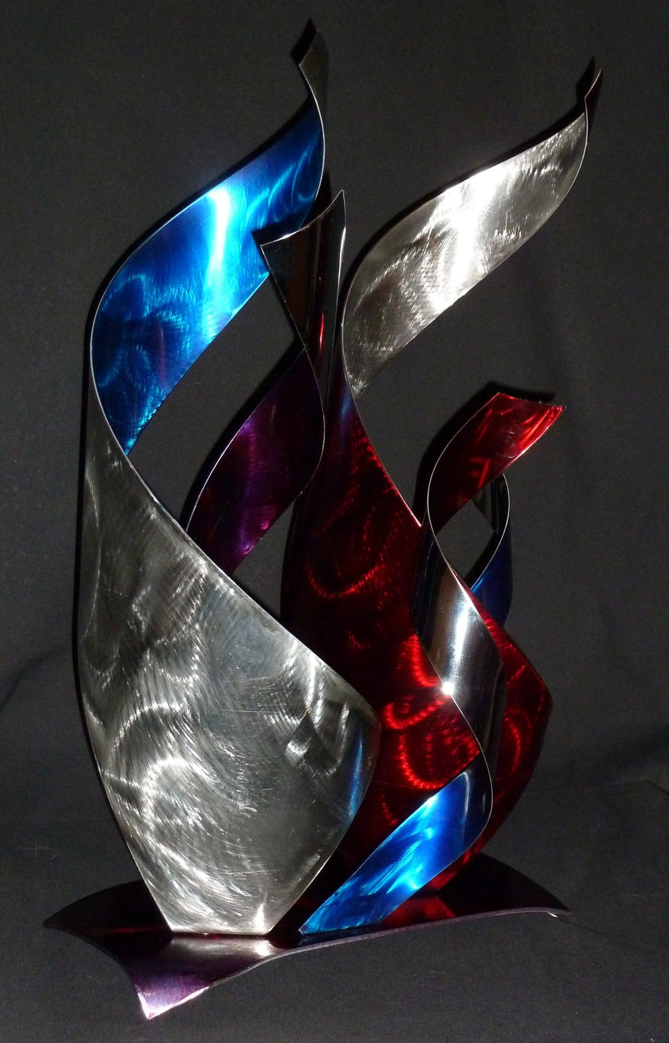 abstract metal art sculpture by dennis boyd db designs