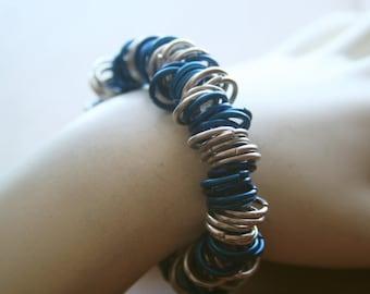 Funky Chunky Striped Style Bracelet