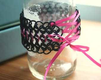 Chainmaille Corset Cuff Set of 2