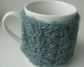 SALE Luxury Cabled Mug Cosy