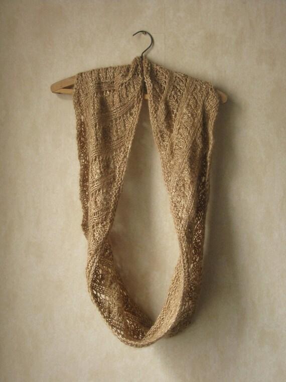 PATTERN Lace Cowl Pdf Knitting Pattern / Lacy Knitting Pattern