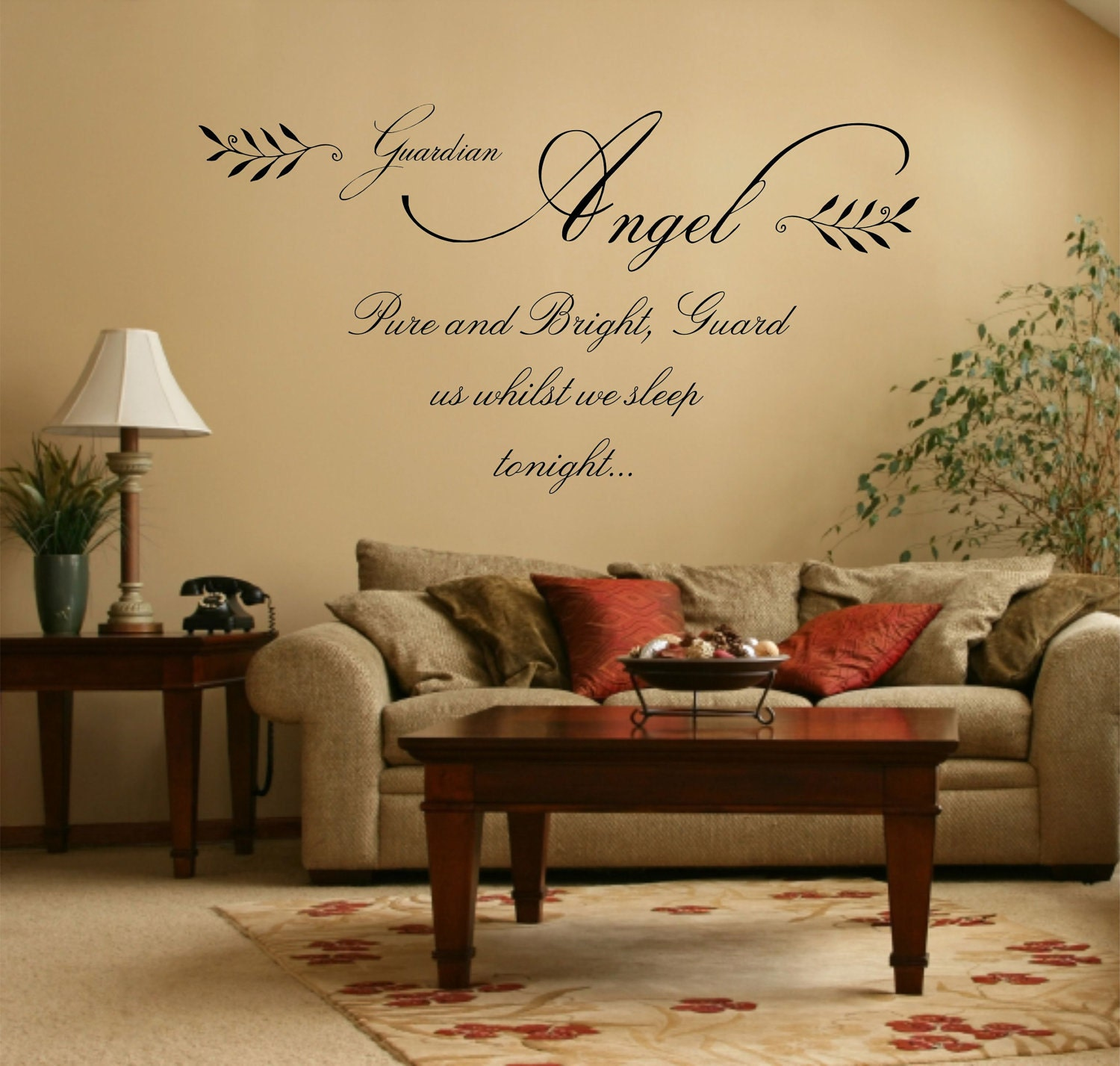 Wall Quote Sticker Angel 39 Quotes