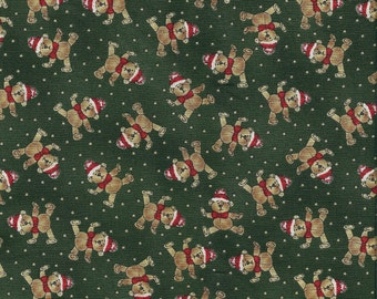 Paper Doll Christmas, Windham Fabrics, Bears, 1/2 Yard