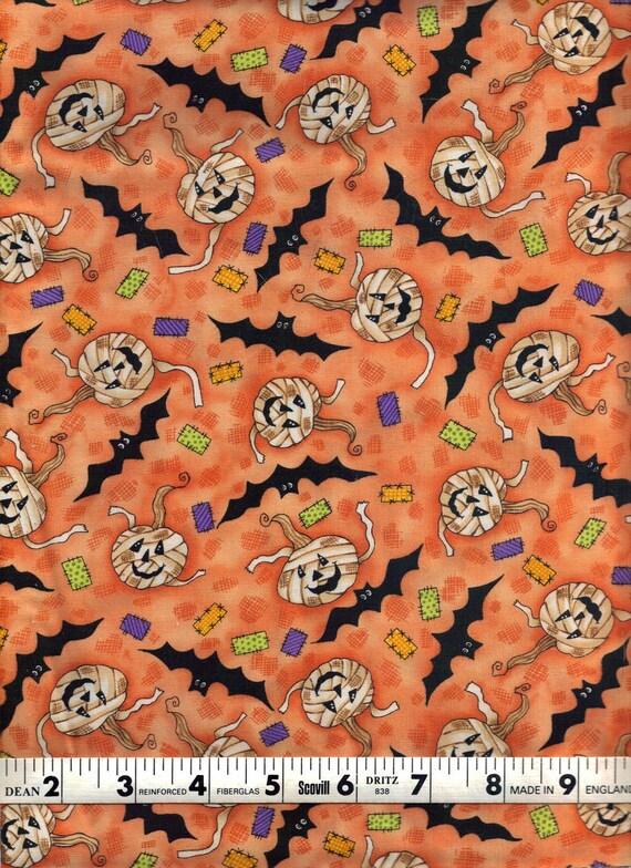End of Bolt, Mummy Mambo, Clothworks, Pumpkins and Bats