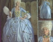 Sewing  Pattern Women 18th Century Gown Costumes Szs 16, 18, 20, 22, 24 New