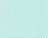 Ruby by Bonnie and Camille for Moda, Dot in aqua, 1 yard