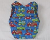 Blue Vehicle Small Children's Backpack