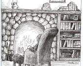Bilbo's Reverie notecard set