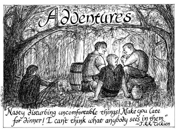 Adventures notecard set