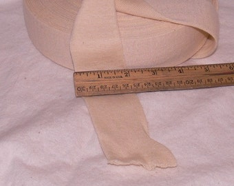 Stockinette 2 inch tubular for making doll heads TWO yards