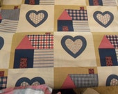 Heart and Home  fabric - by the yard