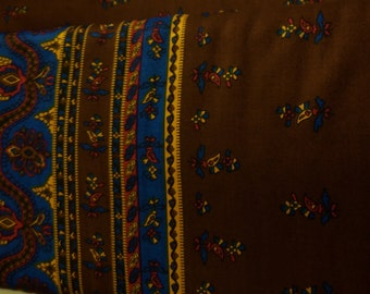 Fisher & Gentile Ltd. Rayon print with border