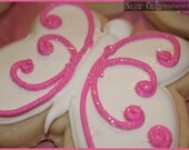 Sparkly Butterfly Cookies
