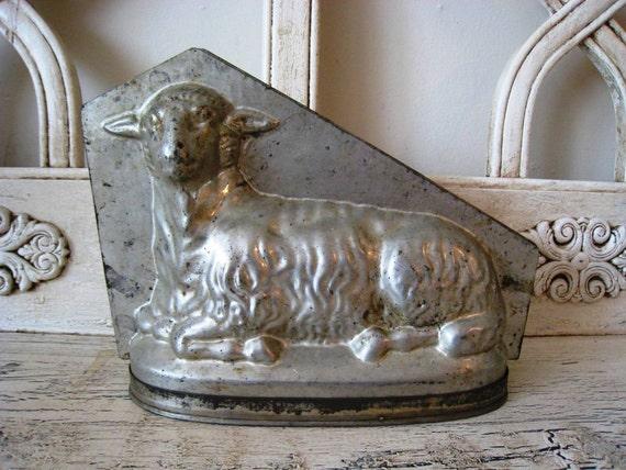 Vintage Chocolate Mold - Lamb