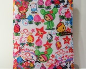 iPad 3, iPad 2, iPad cover case: Vinyl Waterproof Exterior Padded Book-Style Case - Tokidoki Anime Kawaii
