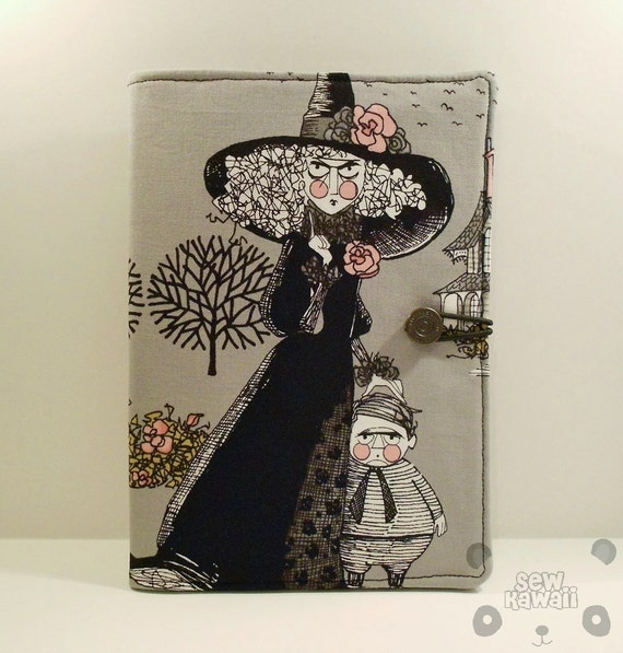 Reserved for chandranamascar - Ghastly Night Tim Burton-esque Padded eReader Book-Style Case/Cover: Kindle 3