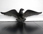 RESERVED- SALE- Vintage Metal Bird - Vintage Eagle Wall Hanging - Black Friday Etsy - Cyber Monday Etsy