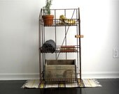 Vintage Industrial Shelf - Vintage Shelf , Industrial Furniture, Industrial Storage