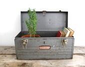 Metal Tool Box - Craftsman Toolbox, Industrial Storage