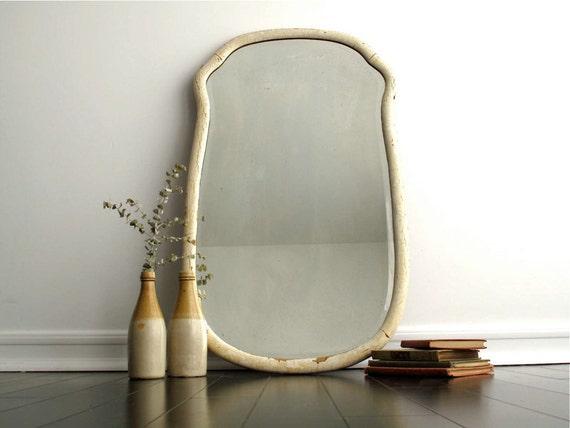 Vintage White Wall Mirror - Vintage Wall Mirror - Wall Mirrors ...