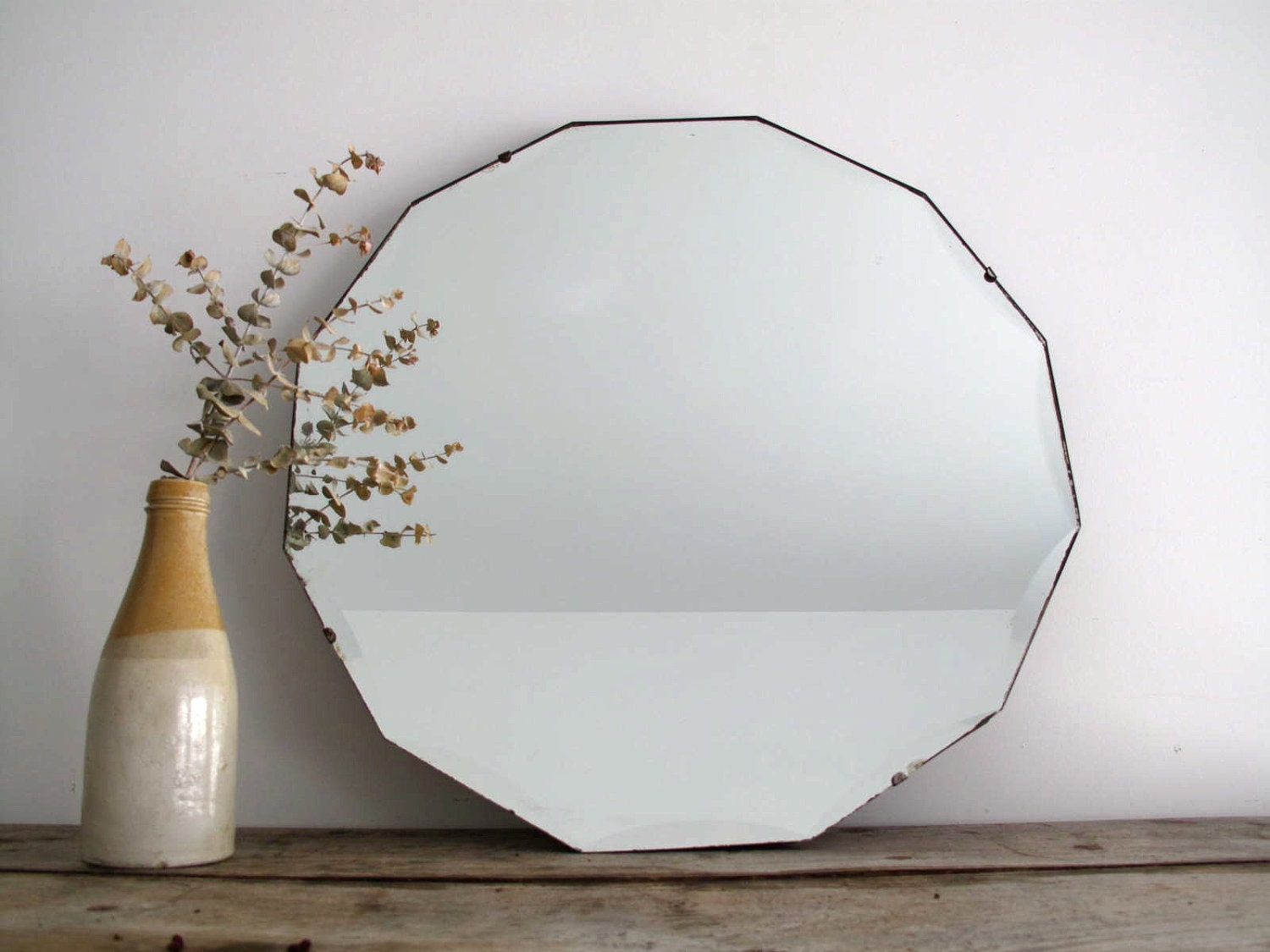 Temporary reserve vintage wall mirror vintage by for Hanging mirror