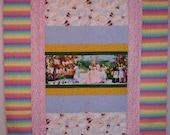 Wizard of Oz Pink Youth Quilt